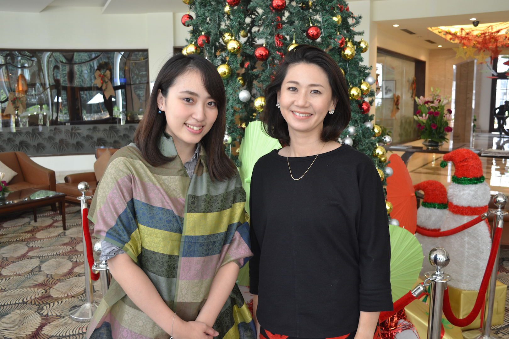 インド転職をサポートする大角と綾子さん