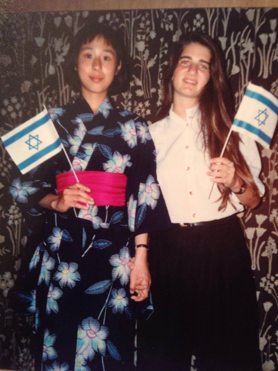 ドイツで知り合ったイスラエル人の友人と