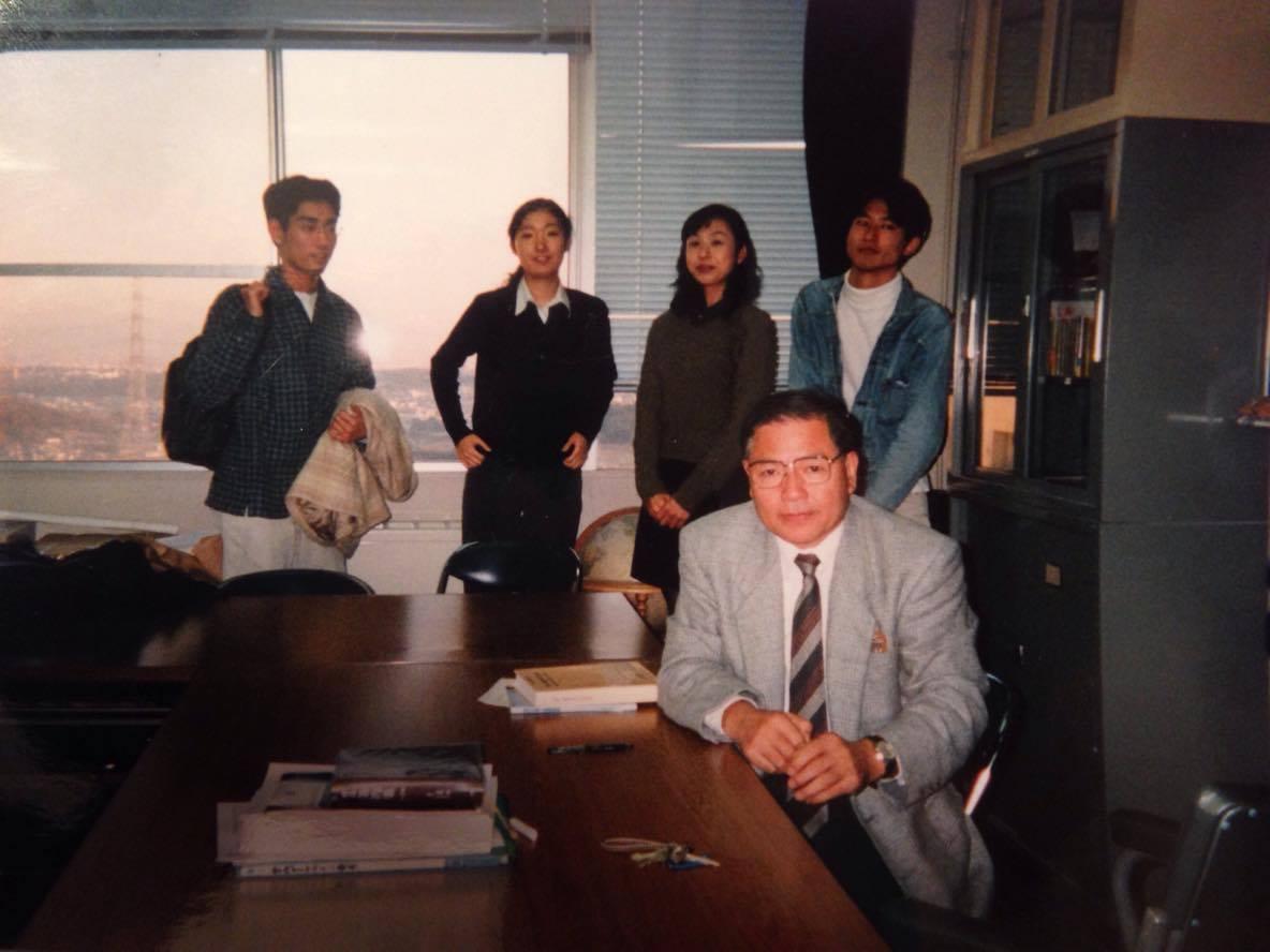 大阪外国語大学のメンバーと