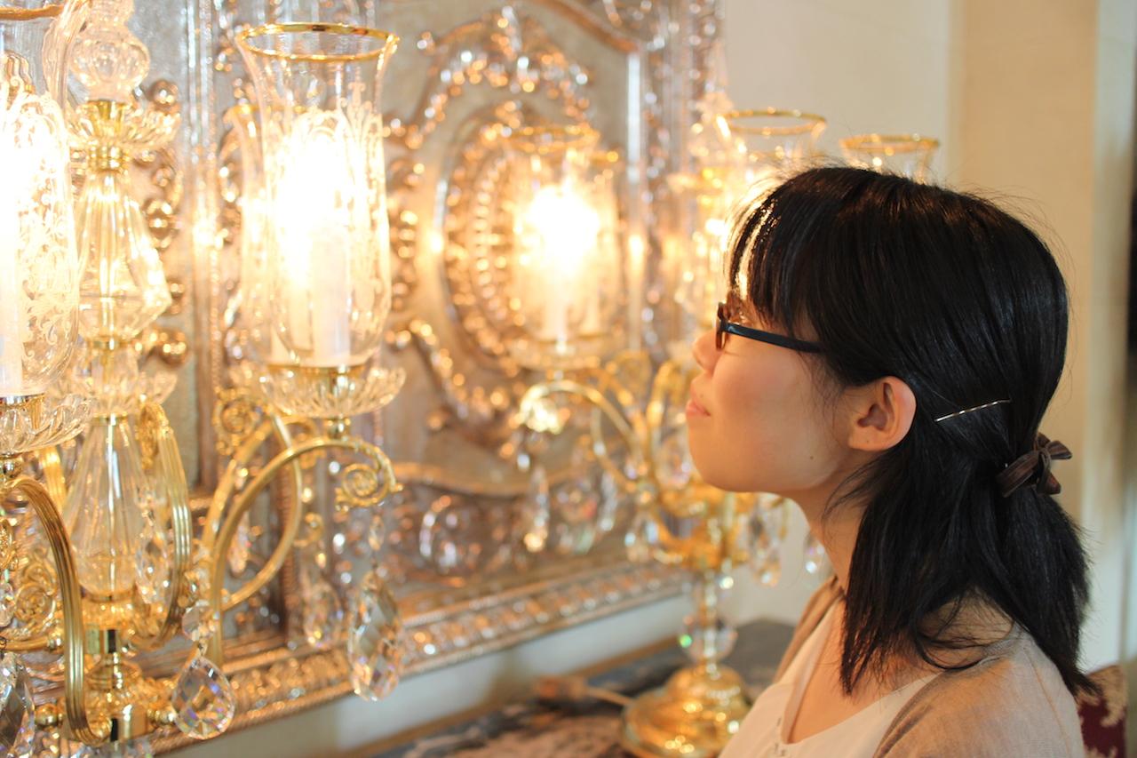 インドで働いている日本人女性、遥香さん